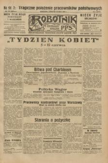 Robotnik : centralny organ P.P.S. R.38, nr 176 (26 maja 1932) = nr 4969
