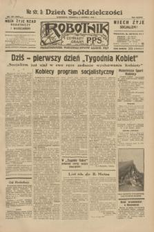 Robotnik : centralny organ P.P.S. R.38, nr 189 (5 czerwca 1932) = nr 4982