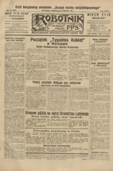 Robotnik : centralny organ P.P.S. R.38, nr 190 (6 czerwca 1932) = nr 4983