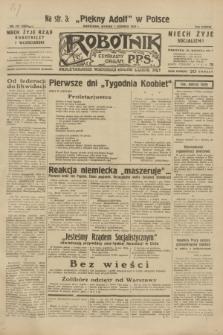 Robotnik : centralny organ P.P.S. R.38, nr 191 (7 czerwca 1932) = nr 4984
