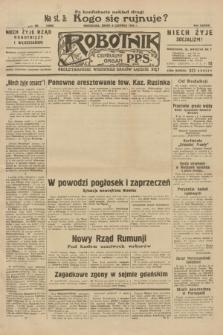 Robotnik : centralny organ P.P.S. R.38, nr 193 (8 czerwca 1932) = nr 4986