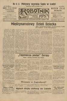 Robotnik : centralny organ P.P.S. R.38, nr 195 (10 czerwca 1932) = nr 4988
