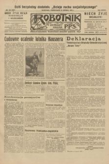 Robotnik : centralny organ P.P.S. R.38, nr 198 (13 czerwca 1932) = nr 4991