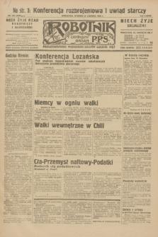 Robotnik : centralny organ P.P.S. R.38, nr 207 (21 czerwca 1932) = nr 5000