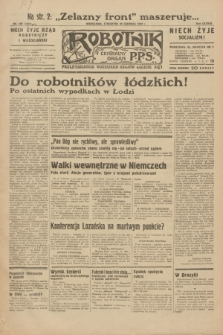 Robotnik : centralny organ P.P.S. R.38, nr 209 (23 czerwca 1932) = nr 5002