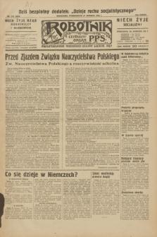 Robotnik : centralny organ P.P.S. R.38, nr 215 (27 czerwca 1932) = nr 5008
