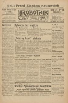 Robotnik : centralny organ P.P.S. R.38, nr 217 (29 czerwca 1932) = nr 5010