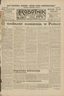 Robotnik : centralny organ P.P.S. R.38, nr 222 (4 lipca 1932) = nr 5015