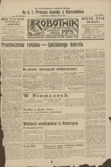 Robotnik : centralny organ P.P.S. R.38, nr 224 (5 lipca 1932) = nr 5017 (po konfiskacie nakład drugi)