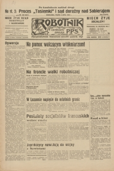 Robotnik : centralny organ P.P.S. R.38, nr 228 (8 lipca 1932) = nr 5021 (po konfiskacie nakład drugi)