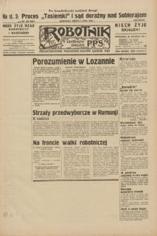 Robotnik : centralny organ P.P.S. R.38, nr 230 (9 lipca 1932) = nr 5023 (po konfiskacie nakład drugi)