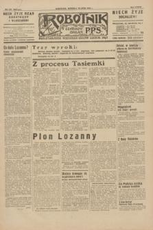 Robotnik : centralny organ P.P.S. R.38, nr 231 (10 lipca 1932) = nr 5024