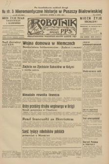 Robotnik : centralny organ P.P.S. R.38, nr 234 (12 lipca 1932) = nr 5027 (po konfiskacie nakład drugi)