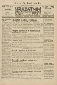 Robotnik : centralny organ P.P.S. R.38, nr 237 (15 lipca 1932) = nr 5030