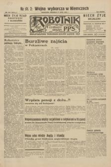 Robotnik : centralny organ P.P.S. R.38, nr 240 (17 lipca 1932) = nr 5033