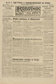 Robotnik : centralny organ P.P.S. R.38, nr 242 (19 lipca 1932) = nr 5035