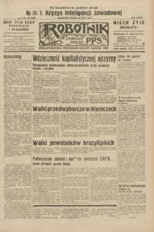 Robotnik : centralny organ P.P.S. R.38, nr 257 (30 lipca 1932) = nr 5050