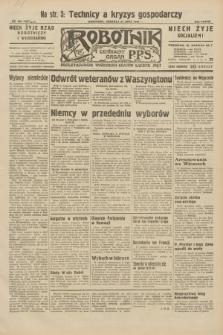 Robotnik : centralny organ P.P.S. R.38, nr 258 (31 lipca 1932) = nr 5051