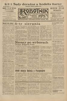 Robotnik : centralny organ P.P.S. R.38, nr 266 (6 sierpnia 1932) = nr 5059