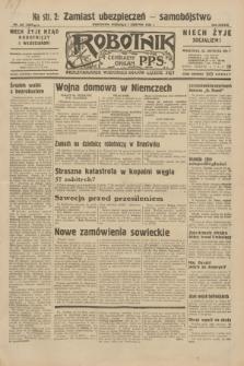 Robotnik : centralny organ P.P.S. R.38, nr 267 (7 sierpnia 1932) = nr 5060
