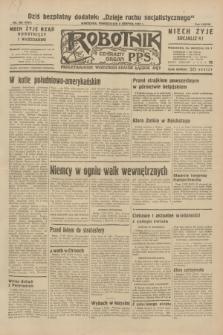 Robotnik : centralny organ P.P.S. R.38, nr 268 (8 sierpnia 1932) = nr 5061