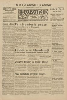 Robotnik : centralny organ P.P.S. R.38, nr 274 (13 sierpnia 1932) = nr 5067