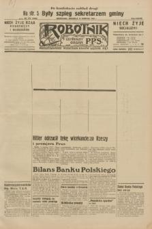 Robotnik : centralny organ P.P.S. R.38, nr 276 (14 sierpnia 1932) = nr 5069 (po konfiskacie nakład drugi)