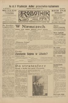 Robotnik : centralny organ P.P.S. R.38, nr 280 [i.e. 281] (19 sierpnia 1932) = nr 5074