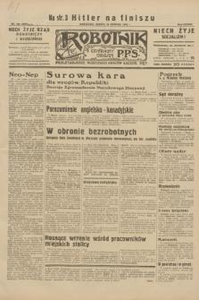 Robotnik : centralny organ P.P.S. R.38, nr 282 (20 sierpnia 1932) = nr 5075