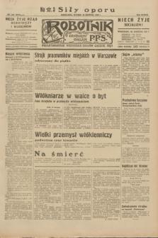 Robotnik : centralny organ P.P.S. R.38, nr 285 (23 sierpnia 1932) = nr 5078