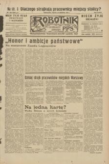 Robotnik : centralny organ P.P.S. R.38, nr 289 (26 sierpnia 1932) = nr 5082