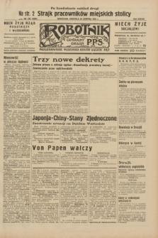 Robotnik : centralny organ P.P.S. R.38, nr 292 (28 sierpnia 1932) = nr 5085
