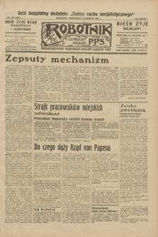 Robotnik : centralny organ P.P.S. R.38, nr 293 (29 sierpnia 1932) = nr 5086