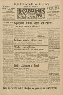 Robotnik : centralny organ P.P.S. R.38, nr 299 (2 września 1932) = nr 5092