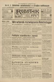 Robotnik : centralny organ P.P.S. R.38, nr 308 (8 września 1932) = nr 5101 (po konfiskacie nakład drugi)