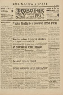 Robotnik : centralny organ P.P.S. R.38, nr 310 (10 września 1932) = nr 5013