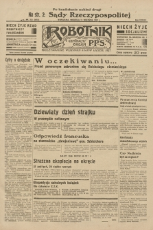 Robotnik : centralny organ P.P.S. R.38, nr 312 (11 września 1932) = nr 5015 (po konfiskacie nakład drugi)