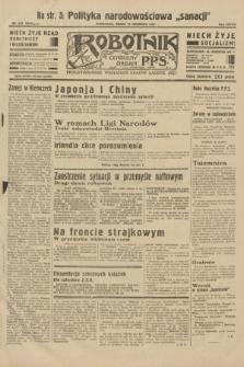 Robotnik : centralny organ P.P.S. R.38, nr 316 (14 września 1932) = nr 5019