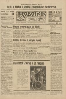 Robotnik : centralny organ P.P.S. R.38, nr 318 (15 września 1932) = nr 5021 (po konfiskacie nakład drugi)