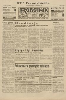 Robotnik : centralny organ P.P.S. R.38, nr 320 (17 września 1932) = nr 5023
