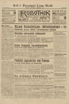 Robotnik : centralny organ P.P.S. R.38, nr 321 (18 września 1932) = nr 5024