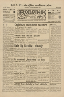 Robotnik : centralny organ P.P.S. R.38, nr 329 (24 września 1932) = nr 5032