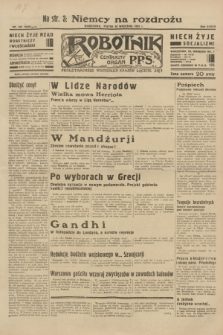 Robotnik : centralny organ P.P.S. R.38, nr 335 (30 września 1932) = nr 5038