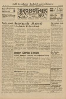 Robotnik : centralny organ P.P.S. R.38, nr 338 (3 października 1932) = nr 5041