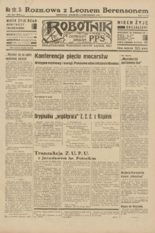Robotnik : centralny organ P.P.S. R.38, nr 342 (6 października 1932) = nr 5045