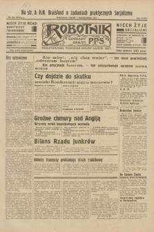 Robotnik : centralny organ P.P.S. R.38, nr 343 (7 października 1932) = nr 5046
