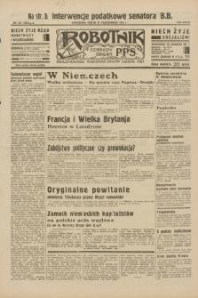 Robotnik : centralny organ P.P.S. R.38, nr 351 (15 października 1932) = nr 5054