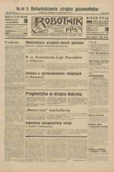 Robotnik : centralny organ P.P.S. R.38, nr 354 (16 października 1932) = nr 5057