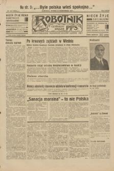 Robotnik : centralny organ P.P.S. R.38, nr 356 (18 października 1932) = nr 5059