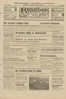 Robotnik : centralny organ P.P.S. R.38, nr 363 (24 października 1932) = nr 5066